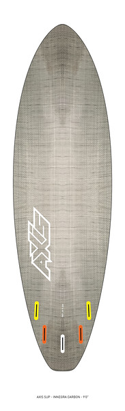 """AXIS 2017 - Innegra Carbon 9'0"""" SUP bottom"""