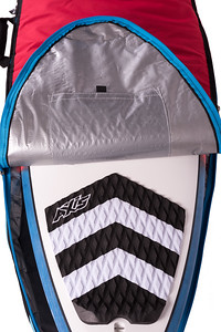AXIS Surfboard Bag inside fix pocket detail