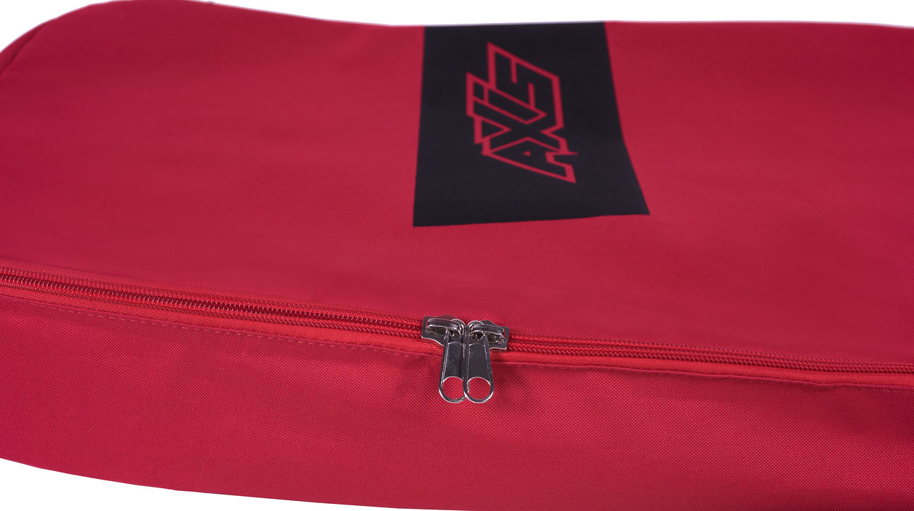 AXIS Twin Tip Double Board Bag Stainless Steel Zipper Detail