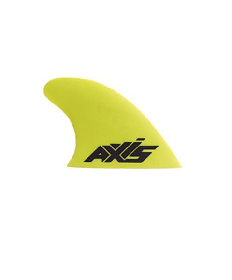 AXIS 70mm / 80mm Premium Green G10 twin tip fins - specifically for AXIS Twin Wave 148x43cm