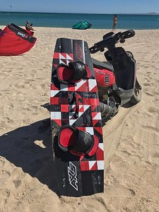 2017 AXIS Vangaurd, Twin tip, Kiteboard, Freeride/Freestyle, Baja, Mexico