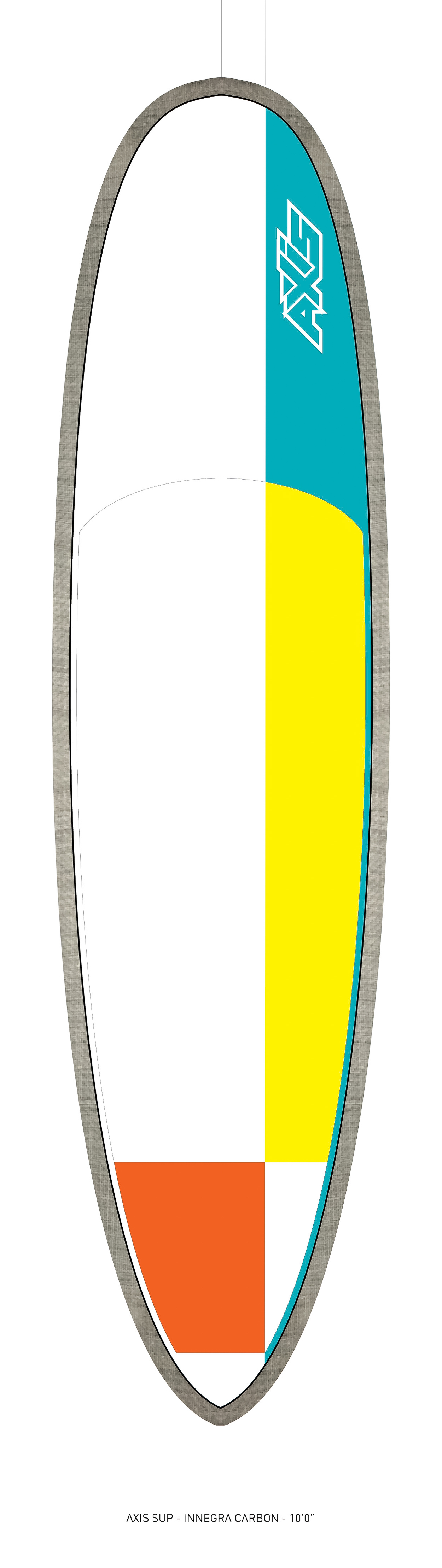 "AXIS 2017 - Innegra Carbon 10'0"" SUP top"