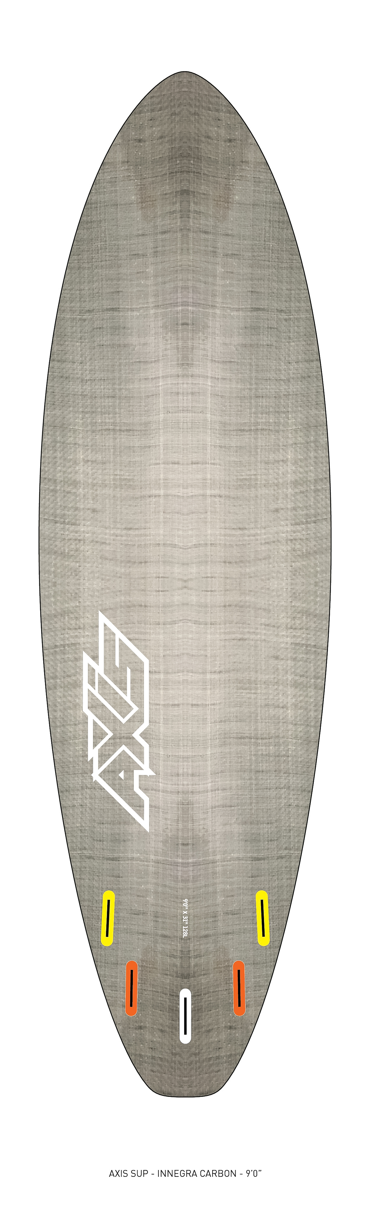 "AXIS 2017 - Innegra Carbon 9'0"" SUP bottom"