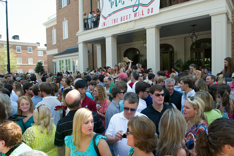 University of Alabama - Bid Day