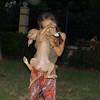 Arenita, puppy, girl, ayora, children, people, melinda