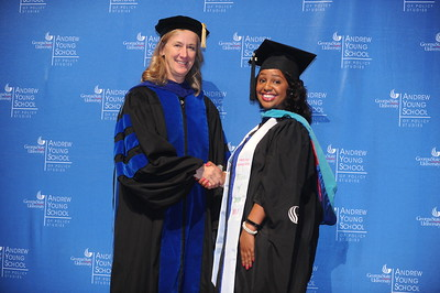Georgia State University - Andrew Young School of Policy Studies - Master's and PhD's Commencement Ceremony