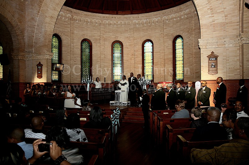 Hampton Wedding Photography - Hampton University Memorial Chapel - Hampton University