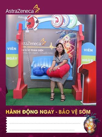 AstraZeneca | Hội thảo Khoa học tại Hotel Becamex Bình Dương | Chụp ảnh in hình lấy liền Sự kiện tại Bình Dương | Photobooth Binh Duong