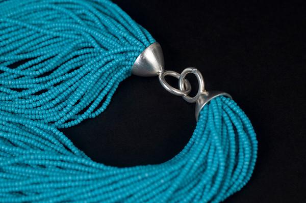 Lynn •Blue Necklace