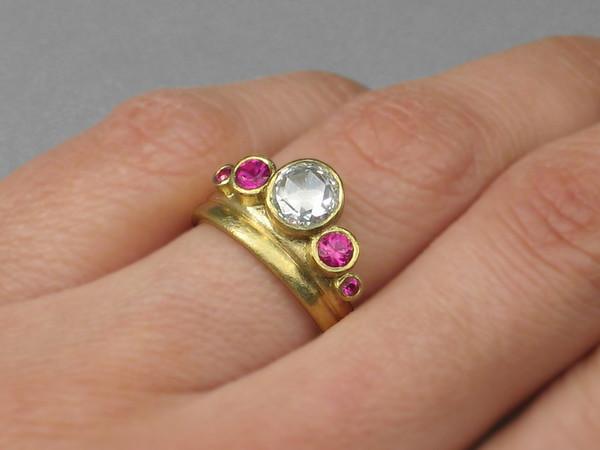 Tiara Engagement Ring