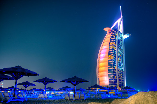 Burj al Arab, the world famous (and only) seven star hotel...that's *******