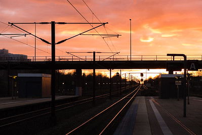Towards sunset