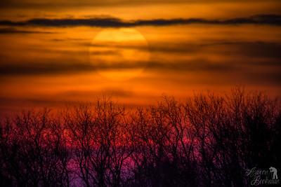 Winnipeg Sunset.