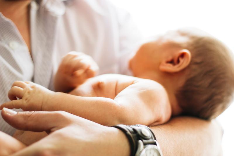 Aaron, Zack, and Lia Newborn Color
