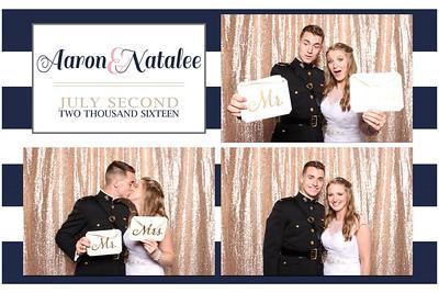 Aaron & Natalee's Wedding Photo Booth