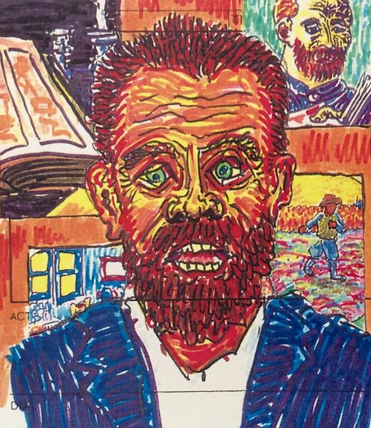 Paranoid Schizophrenia (after Van Gogh)