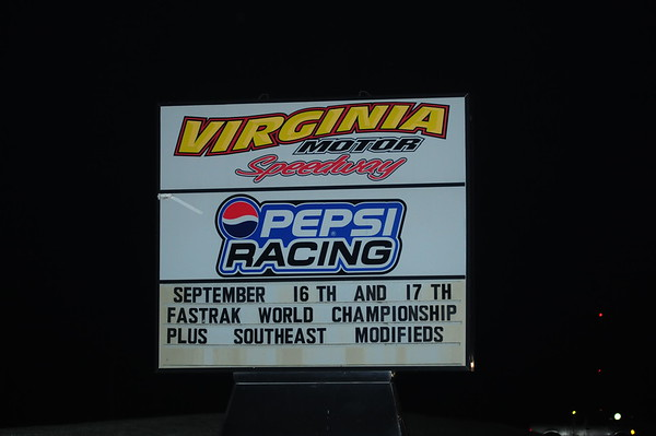 "Aaron's FASTRAK World Championship ""VIRGINIA MOTOR SPEEDWAY""  9-17-16"