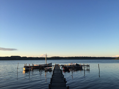 Sommer aften ved Mariagerfjord