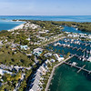 Treasure Cay Marina Aerial View 2