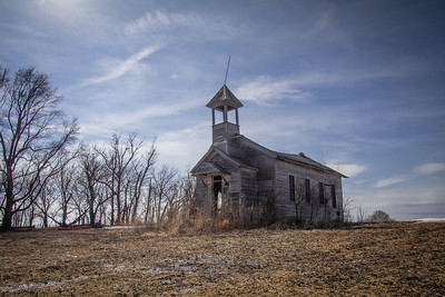 Blackstone One-Room Schoolhouse. Burt Co., NE