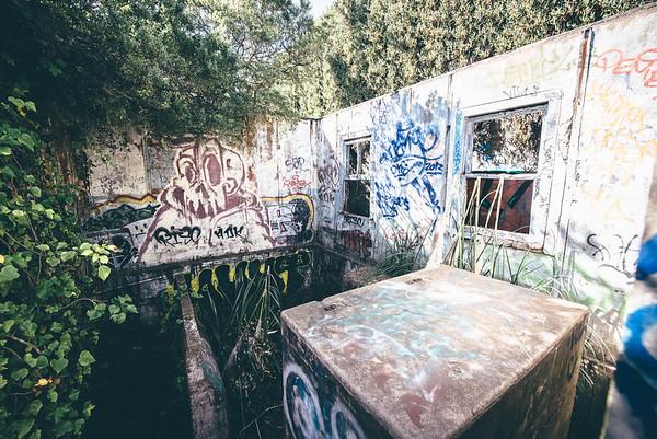 Old WW2 Bomb shelter (Marin CA)