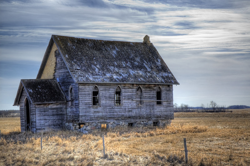 Abandoned Church - Manitoba