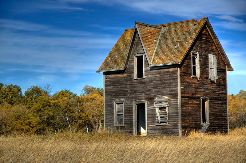 Abandoned House - Brandon, Manitoba
