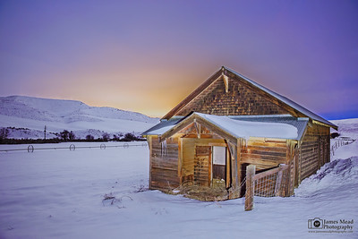 """Midnight at the Grange,"" Wasco County, Oregon"