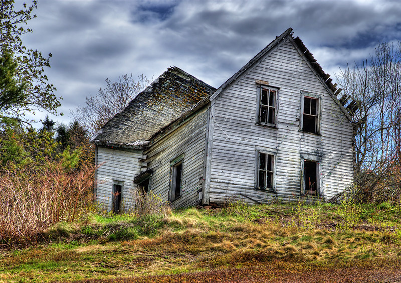 Abandoned House - Lakelands, Nova Scotia