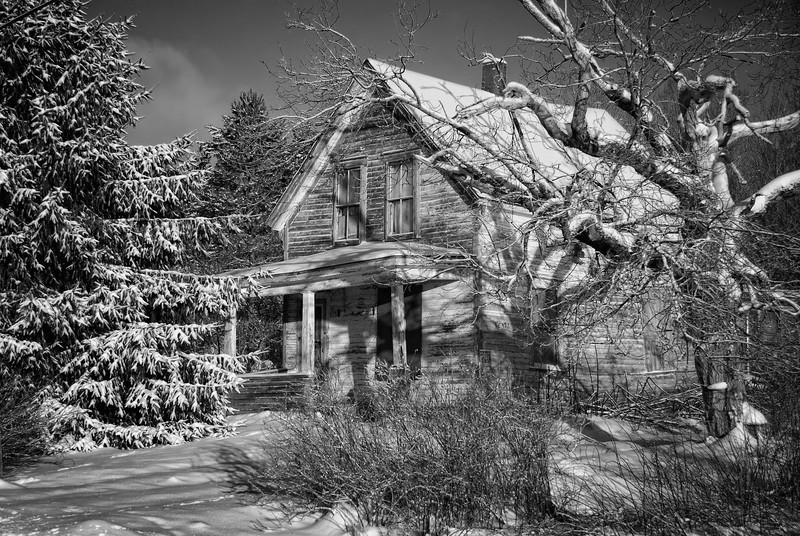 Abandoned House - Springhill Junction, Nova Scotia
