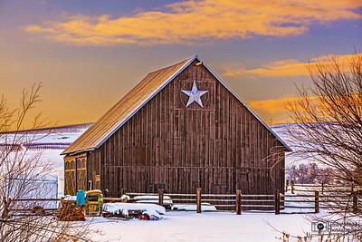 """Lone Star Winter,"" Wasco County, Oregon"