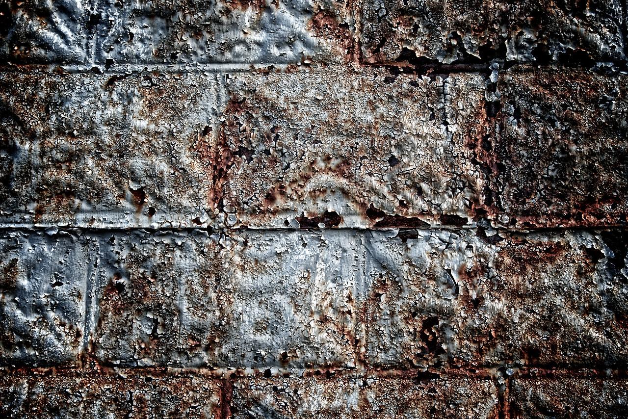 Rusting Fake Brick
