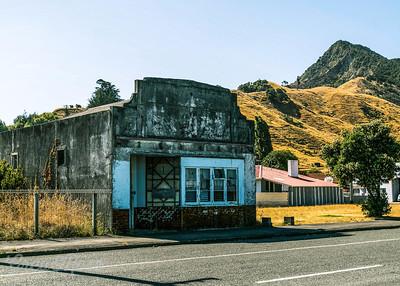 Abandoned store, Tokomaru Bay.