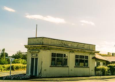 Abandoned Corner Store, Tokomaru Bay.