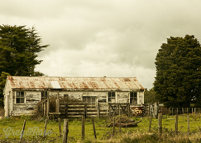 Cute deserted home in Okaihau.