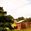 Red shed in Waimoto North-Edit