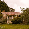 Wee deserted cottage at Okaihua