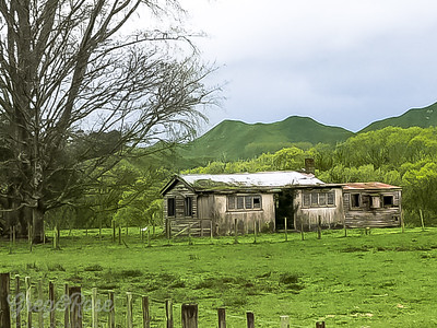 House and shed once Loved