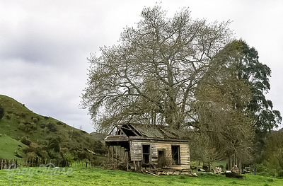 Once loved and sheltered now a Ruin