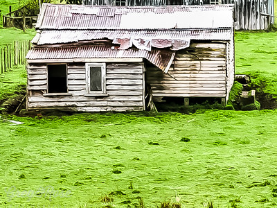 Abandoned near Taumarunui