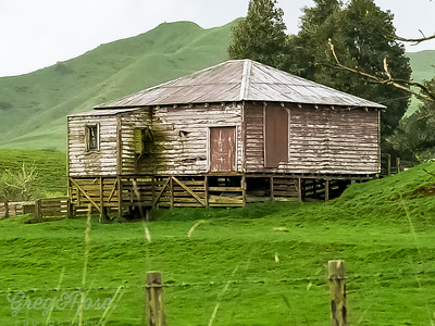 Abandoned in an area likely to flood
