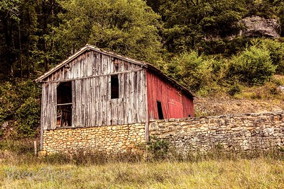 Timber and Stone Barn