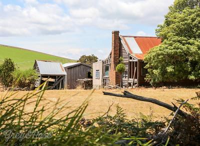 Abandoned dwellings ,East Tamer Valley ,