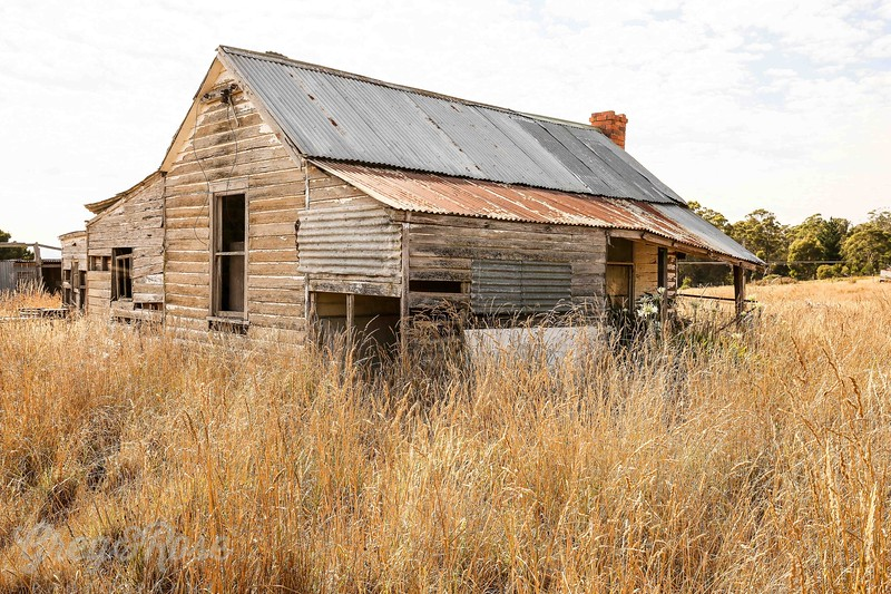 A derelict beauty in West Tamer , Tasmania
