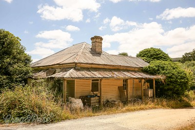 Abandoned Home in Scotsdale, Tasmania.