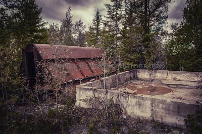 Abandoned Duparquet Mine