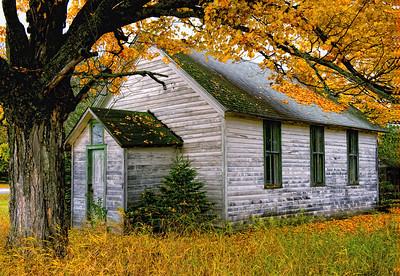 OLD GROAT SCHOOLHOUSE