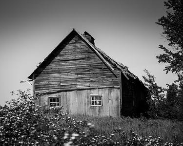 Abandoned, near Dorion Ont