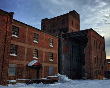 Abandoned Mill, Mission Island Thunder Bay