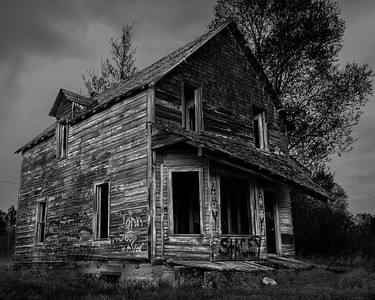 Abandoned home, near Wawa, Ontario.